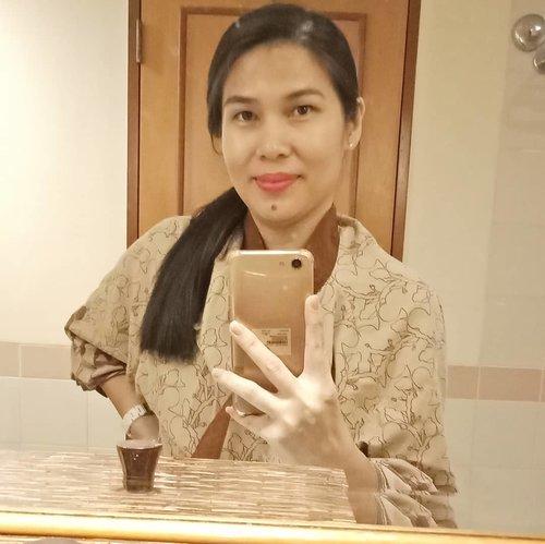 #iwokeuplikethis 😄 . .. ... #ClozetteID #mirrorselfie #selfie #shamelessselfie  #HYmoments #HyattRegencyYogya #worldofhyatt #throwback #neiiJOGtrip #instatravel