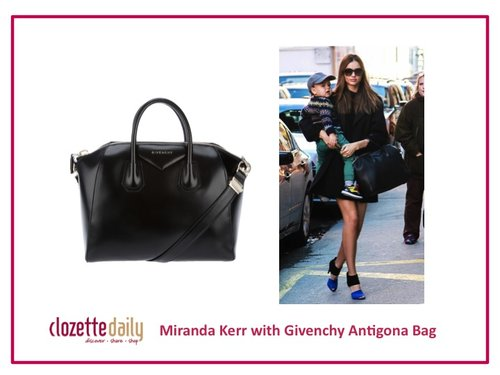 Miranda Kerr with Givenchy Antigona Bag