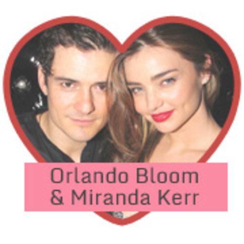 Orlando Bloom & Miranda Kerr