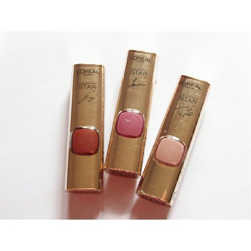 @lorealparisid Color Riche Collection Star NudeLimited edition lipsticks inspired from L'Oreal Paris ambassadors Gong Li, Sonam Kapoor and J.LoGong Li for Barely MokaSonam Kapoor for Barely PlumJenifer Lopez for Barely Greige#loreal #lorealparis #limitededition #colorriche #colorrichelipstick #lipstick #beautyblogger #beautybloggerindonesia #clozettebeauty #clozetteid #clozetteambassador #makeup #instabeauty #bblogger #igbeauty #bloggerlife #lorealbeautybox #lipcolor #lorealindonesia
