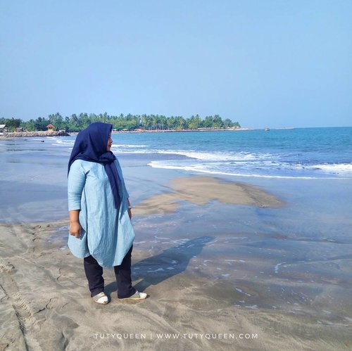 """Vitamin Sea. Anyer Beach. """"Then which of the favours of your Lord will you deny"""" #ExcitingBanten  #anyer  #anyerbeach #clozetteid"""