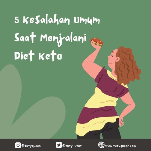 Banyak orang mengaku bisa menurunkan berat badan dalam waktu singkat setelah melakukan diet keto. Ini merupakan testimoni yang cukup menggoda. Tapi, meskipun diklaim bisa menurunkan bobot tubuh dengan cepat, diet keto sejatinya sama seperti diet lainnya harus dilakukan dengan cara yang tepat agar bisa menunjukkan hasil yang maksimal dengan risiko kecil.  Sayangnya, tak sedikit orang yang salah menerapkan diet keto ini. Untuk mendapatkan hasil yang maksimal dan meminimalisasi risiko. Yuk, simak kesalahan umum dalam menjalani diet keto ini. Klik link di bio yaa..  #lifestyle #healthylifestyle  #diet #dietketo #clozetteid