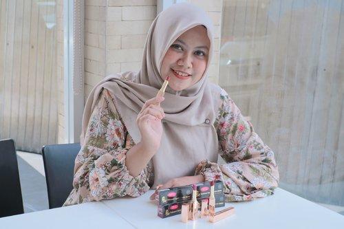 Purbasari Lipstick Color Matte Shimmer Finish