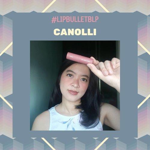 "CANOLLIDi bibirku, shade ini sesuai deskripsinya, yaitu ""Opaque beige with hint of dusty pink"". Shade yang sangat kekinian meskipun agak tricky imho.Definitely akan elevate the whole look asal di compare dengan makeup mata/wajah yang cocok...#LipBulletBLP#OnTheLips #BLPGirls #clozetteid #MELpinkpalette"