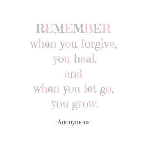 A note to everybody. . . . . #clozetteid #quote #quoteoftheday #QOTD #letgo #forgiveness #moveon