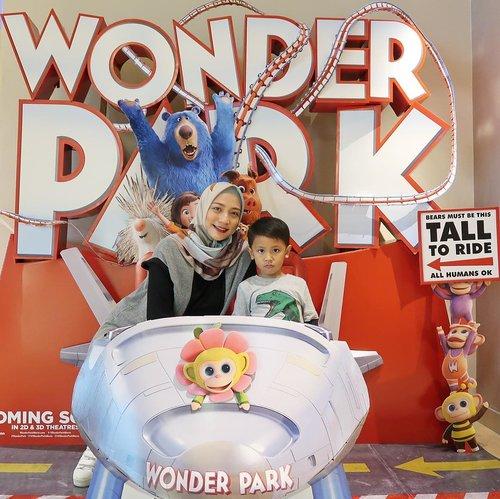 Weekend kali ini movie date bareng kakak #ravasko & Clozette Mommies lainnya untuk nonton Wonder Park. Seruuu sekali filmnya & kaya makna krn mengajarkan anak untuk selalu memiliki mimpi & imajinasi juga percaya diri saat mewujudkan mimpi2nya nanti.Yuk moms ajak anak2 untuk nonton Wonder Park juga di bioskop terdekat mulai tgl 13 Maret 2019.#WonderParkID #WonderParkxCID #ClozetteID