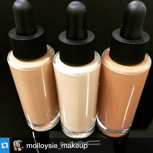 😱😱😱 i want this! I'm obsessed witb my Giorgio Armani Maestro, and I cant wait to try the YSL one...now MAC is going to release this???!!!! I need iiiit!!! 😭😂 #Repost @molloysie_makeup with @repostapp.
