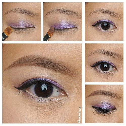 Purple: check, Glitter: check! Ready for the Holiday season? Check out my new tutorial using @thefaceshopcan lavender glitter eyeshadow and Purple Violet color proof eyeliner in the blog (link is in bio) --> kireimakeup.com#THEFACESHOPholiday #kireimakeup #bbloggersca #holidaymakeup #lavendermakeup #glitter #glittereyeshadow #lavenderglitter #makeupartist #makeupblog #beauty #beautybloggers #koreanmakeup #makeupjunkie #makeupaddict #clozette #clozetteid #torontobeautyblogger #makeupartisttoronto #makeupartistsworldwide #universodamaquiagem_oficial
