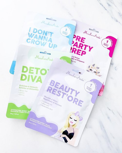 I did a little write up on my blog about these babies! Thanks @maskeraidebeauty for the masks! It's been 4 years since I first tried these masks. Still awesome, the only difference is the packaging! Still cute 😉 more on my blog, link in bio. • • • #hamont #skincare #skincarereview #cleanbeauty #cleanskincare #greenbeauty #honestreview #facemask #sheetmask #facemasking #canadianbrand #canadiancompany #supportsmallcanada #shopcanadian #canadianskincare #canadian #shopcanada #shopsmallcanada #bbloggersca #bbloggers #clozette #clozetteid #toronto #torontomakeupartist #skincarefirst #flatlay #beautyflatlay