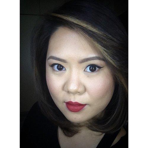 Today's motd! Going red with @maccosmetics viva glam 1 for tonight's wedding party. #kireimakeup #clozetteid #makeup #indonesian #indonesianmua #indonesianblogger #makeupaddict #makeupblog #makeupartist #makeupjunkie #beauty #beautiful #beautyblog #beautyblogger #asian #redlips #red #vivaglam #mac #cosmetics #fashion #anastasiabeverlyhills #girl #girlything