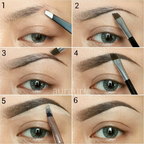 Long lasting Natural Brow Tutorial using Anastasia Beverly Hills Brow Genius Kit in Brunette. Last me all day with waterproof & smudgeproof brow 💜