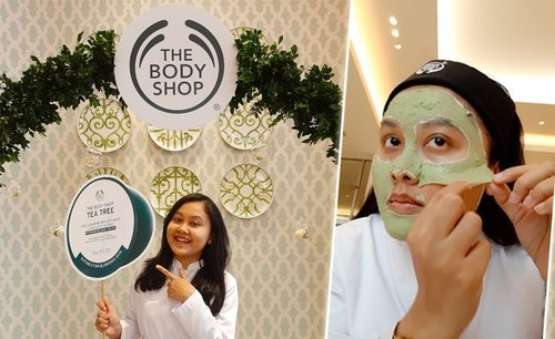 The Body Shop Tea Tree Peel-Off Mask Review - Lia Harahap