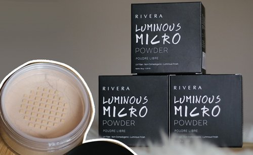 Rivera Luminous Micro Powder Review - Lia Harahap