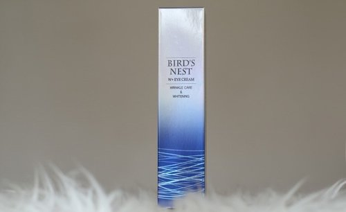 SNP Bird's Nest W + Eye Cream Review - Lia Harahap