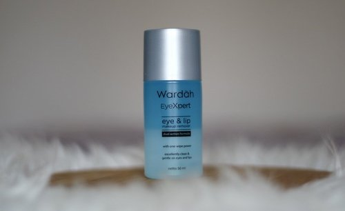 Wardah EyeXpert Eye & Lip Makeup Remover Review - Lia Harahap