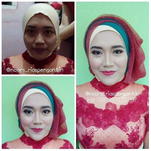 Today makeup for graduation.as a request soft natural makeup with a touch of red. Follow my second IG to see ny other work @noors_riaspengantin For job inquires:Sms/wa: 081287175207Line: yukalicious15Pin bb: 57AC3A76#makeup #beauty #makeupartist #mua_jakarta #muajakarta #makeupwisuda #riaswisuda  #wisuda #graduation #nocukuralis #riasmuslimah #makeupforhijab #hijabstyle #hijabers #makeupbyuka #makeupbynoorsmua #clozetteID #instabeauty