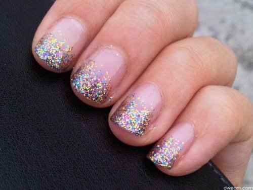 Sparkle-icious by OPI,,simple but still chic ^^