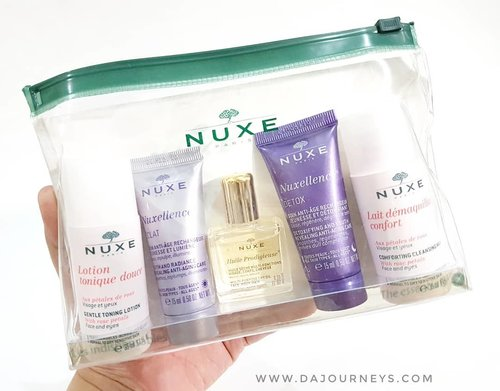 Ada yang udah pakai Nuxe? Ada yang direkomen ga produknya? Karena blom pernah coba, saya beli trial set di @sociolla 😄 yang mau belanja di Sociolla bisa pakai kode diskon SBNLAP4Q ya buat dapetin potongan 50rb kalau total belanjaan kalian 250rb.@nuxeindonesia #nuxe #nuxehuileprodigieuse #ClozetteID #skincarejunkie