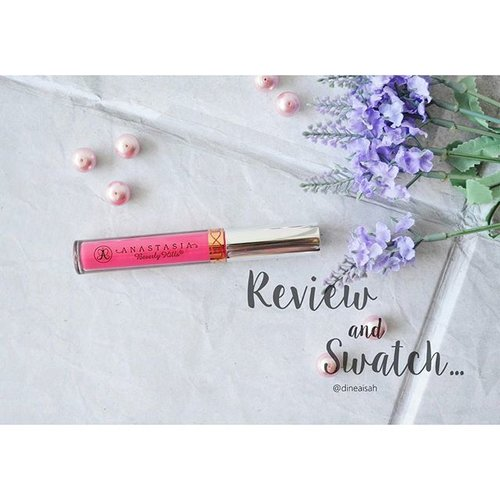 Review and Swatch @anastasiabeverlyhills Liquid lipstick in Sweet Talker 🍭🍬🍯 *cek link bio for detail review  #Clozette #Clozetteid #beauty #makeup #anastasiabeverlyhills #USproduct #Liquidlipstick #Shade #Sweettalker #Matte #bbloggers #beautybloggerid #Fotdibb #takeafoto #NikonD5100 #Photography #vintage #dreamy #indonesiabeautyblogger #Review #dasistersblog #Nationallipstickday #Blog