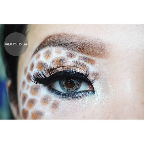 #EOTD : ✔ Eyebrow @anastasiabeverlyhills Browwiz ✔ Eyeshadow #ltprocosmetics Kits Brown ✔ Eyebase @nyxcosmetics JEP Milk ✔ Eyeliner @maybellineina Hyper Gloss Black ✔ Waterline @silkygirl_id Eyeliner pencil black ✔ Eyelahses @Deyeko New Syahrini  #Clozette #Clozetteid #Beauty #Makeup #Eyemakeup #Eyebrow #anastasiabeverlyhills #Browwiz #Madagascar #giraffe #Melman #abstarct #Makeupfantasy #Deyekoid #lashesmoveon #nyxcosmetics #Jepmilk #dasistersblog #Bbloggers #Beautybloggerid #fotdibb #indonesiabeautyblogger #instabeauty #instamakeup #zukreat