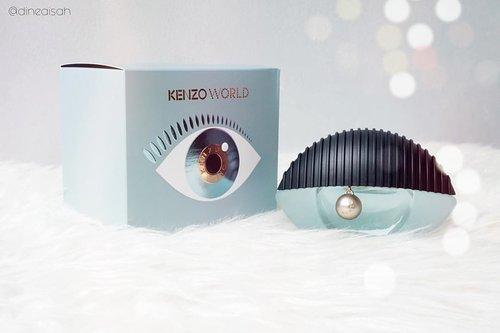 Congratulations to KENZO, atas launching parfume terbarunya yaitu KENZO WORLD.Parfume ini merupakan hasil collaboration antara KENZO Perfume & KENZO Fashion, sehingga menghasilkan Packaging parfume KENZO WORLD yang unik dan beda dari biasanya, yaitu seperti menyerupai mata.KENZO WORLD memiliki wangi dari ekstrak Raspberry, Peony, Jasmine dengan sentuhan akhir Ambroxan. Wangi dari perfume ini sangat cocok untuk kamu yang mengingingkan wangi feminime, elegant, and amber floral.Perfume KENZO WORLD sudah tersedia di Sogo sekarang. Bagi kamu collector wewangian, segera untuk beli yaaaa.#Clozetteid #Clozette #Beauty #BodyCare #Bodytreatment #Perfume #Amberfloral #Floral #KenzoWorld #KenzoPerfume #Kenzo #KenzoWorld_id #Fashion #Eye #BabyBlue #Feminime #Bokeh #InstaBlogger #Instabeauty #Instadaily #Bloggerreview #BBloggers #BeautyBloggers #KenzoFashion #Launching #EventBeauty