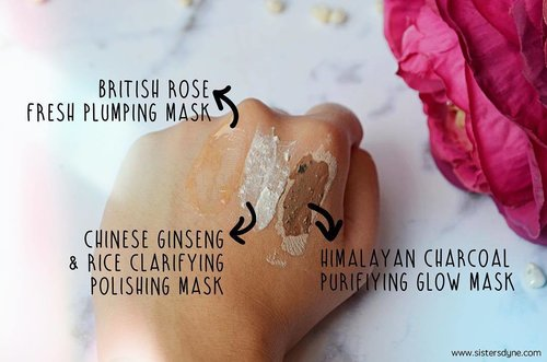 Superfood Face Mask The Body Shop variant . . . Baca review lanjut tentang product ini dipost blog terbaru kami yaitu www.sistersdyne.com atau click link bio . . #Clozette #Clozetteid #FOTD #Beauty #Skincare #Multimasking #TheBodyShop #Purfiying #Polishing #Plumping #Britishrose #Himalayanchorcoal #chineseginsengandrice #Superfood #mask #face #instaskincare #instabeauty #instadaily #skincare #treatment #detox #bbloggers #beautybloggerid #dasistersblog #beautyblogger #rosemask #rose