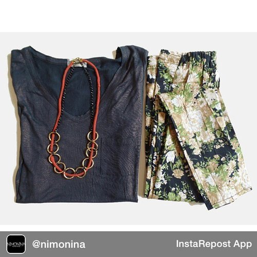 Repost from @nimonina via @igrepost_app, it's free! Use the @igrepost_app to save, repost Instagram pics and videos, Pick of the day  Printed cotton pants by @nimonina Grey loose tee by @swanstwenty  Necklace by @azalea_acc  drops your order via: whatsapp : +6283873872007 / +626282132550471 sms : +6282135091399  Visit : www.swanstwenty.com  #nimoninabyswanstwenty #Fashiononline #fashionindonesia #onlineshopjakarta #onlineshopindonesia #onlineshopid #produkindonesia #printedpants #celanamotif #olshopindo #olshopjakarta #100persenindonesia #jualanonline #onlinejakarta #fashionjakarta #pakaian #clozetteid #clozettegirl #clozette #ootd #ootdindo #fashion #fashionid #fashionworld