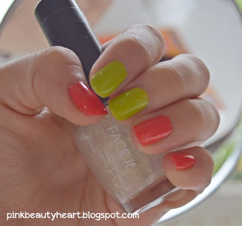 Nail polish with Essie Summer Collection...  visit and follow : www.pinkbeautyheart.blogspot.com