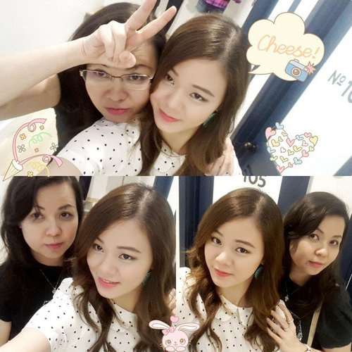 Is she my mom? Yes she is.. she still young.. energetic.. and sometimes act crazy like me... she is more likely a friend for me.. who is there anytime I need her.. and I love her so much 😊😙 #happymotherday.. don't forget to say thank you to your mom... and how much you love her ^^ #clozetteid #makeup #indonesianbeautyblogger #beauty #beautyblogger #motd #fotd #selfie #ulzzang #girl #girls #asian #kawaii #motherday #mothersday #meandmom #meandmymom #loveyoumom #mom #mother #crazyday #moment #memories #happpyday #family