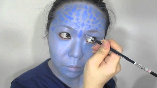 FACE PAINTING : MYSTIQUE INSPIRED - YouTube  youtube: museswonderland  and of course: twitter: @museswonderland facebook: muses wonderland IG: @museswonderland