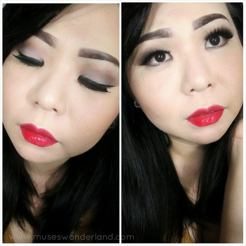 One way to celebrate the 17th of August also known as Indonesia Independence Day, is to put some hot red lipstick!  Here is a makeup look you can follow tp wear to celebrate Independence Day this weekend!  Foundation: @makeoverid Powder:@makeoverid Eyebrow: @sleekmakeup @luxola Eyeshadow: @bhcosmetics Lashes: @gwiyomiboutique Lipstick: @makeoverid Shading: @makeoverid  Yes, using @makeoverid product because it is one of my favorite local brand.  #merahputih #clozettecrew #clozetteambassador #clozettesg #clozette #ClozetteID #clozetter  #clozetteidgirl #kemerdekaan #merdeka #indonesia #makeupindonesia #fdbeauty #femaledaily #glamasia #tujuhbelasan