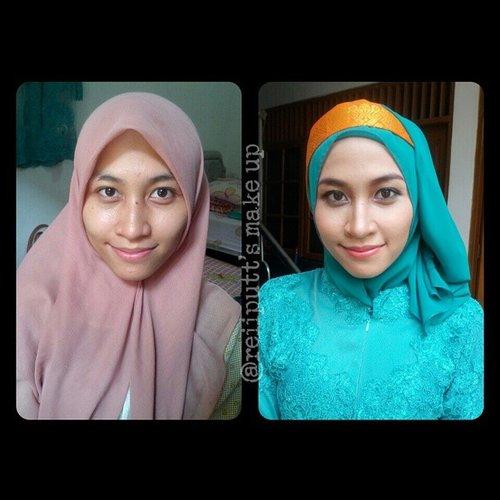 Congraduations Kak Anis, make up and hijab do by me with a little help from @pupujai, she requested for a natural make up look and she asked me to keep it light. No eyebrows trim and no falsies. #makeup #makeover #mua #makeupartist #muajakarta #muadepok #makeupwisuda #hijab #hijabfashion #colorfulhijab #ilovehijab #hijabwisuda #beautyblogger #indonesiabeautyblogger #ClozetteID