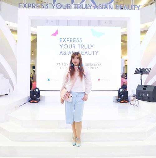 Dressed in pastel pink and blue from head to toe for @pixycosmetics event, check out my event report here : http://bit.ly/pixyeventsbyPlease just ignore my murderous expression,  it was a long day for me. #pixyasianbeautyblogger #inthemoodfornude #pixy #pixycosmetics #event #beautyevent #clozetteid #beautynesiamember #sbybeautyblogger  #blogger #bblogger #bbloggerid #indonesianblogger #indonesianbeautyblogger #surabaya #surabayablogger #surabayabeautyblogger #influencer #beautyinfluencer #surabayaevent #eventsurabaya #surabayainfluencer #sbbxpixycosmetics #pixylipcream #ootd #ootdid #ootdindo #dressedinpastelcolors #babyblue #babypink