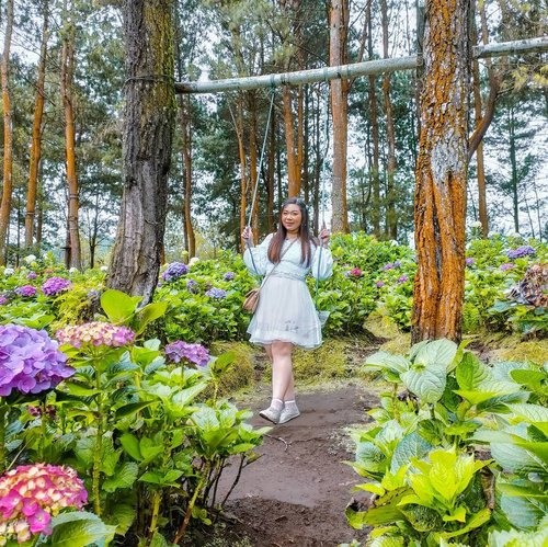 Who wants to runaway to mother nature with me?#flowers #flowergarden #tamanbungacobantalun #cobantalun #pinkinbatu #pinkjalanjalan #ootd #ootdid #BeauteFemmeCommunity #SbyBeautyBlogger #clozetteid
