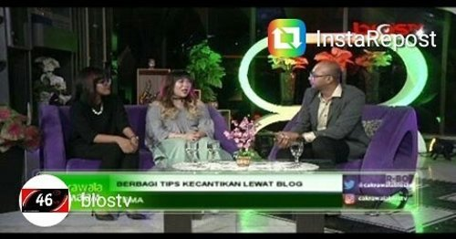 Last night at @biostv , that's a rather off timing snap with my mouth wide open 😄 but that's okay,  i was there to talk afterall haha.  Btw,  thank you again @madassbyndaru For my hair 😘😘😘 #biostv #talkshow #live #liveontv #surabaya #blogger #bbloggerid #indonesianblogger #indonesianbeautyblogger #surabayablogger #surabayabeautyblogger #sbybeautyblogger #girls #asian #clozetteid #clozettedaily #influencer #cakrawalamalam #biostvsurabaya #beautyblogger #lifestyle #firsttime #newexperience #sonervous #sbbcomittee #bloggerceria #bloggerceriaid