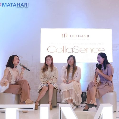 Throwback to our event with @ultimaii_id , fun talkshow about skin care, learning more about Ultima II's CollaSence and a 15 minutes makeover challenge that made @deuxcarls and i worked out a sweat!  Thank you Ultima II for having us on your 60th Anniversary and thank you my gurls from @sbybeautyblogger for the support, also out friends from @beautyinfluencersby !  #GoBeyondExtreme #thecollagenexpert #collasence #ultimaii60thanniversary #ultimaiievent #ultimaii  #sbbevent #event #eventsurabaya #surabaya #surabayaevent #girl #clozetteid  #sbybeautyblogger  #bloggerindonesia #bloggerceria #bloggerperempuan #indobeautysquad  #influencer #beautyinfluencer #surabayainfluencer #surabayablogger #influencersurabaya  #indonesianbeautyblogger  #bloggerid #bblogger #bbloggerid #SurabayaBeautyBlogger