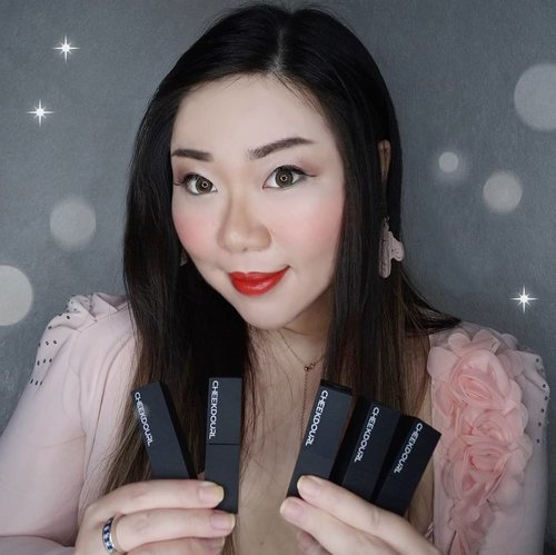 Been trying and enjoying these babies, @cheekdourl_id Amour Velvet Matte Lipstick lately!  Cheekdourl is a Chinese brand (you can check their website www.cheekdourl.com) with extensive product variant with luxurious packaging and ingredient list clearly stated in their packaging so i am pretty comfortable to review them ☺️. They currently have 3 different variants of lippies and i decided to try out the classic bullet type (the other two are liquid lipsticks). Although they called it Matte Lipstick, but i would say none of it are really matte, some have velvet finish while the others have satin finish, but i personally don't mind that.  The colors are pretty and mostly quite bright, i find some of the colors are too similar to each other though - hopefully they'd come out with more color choices ☺️. As they are pretty creamy, they are comfortable (you can definitely feel them though as they are not light) to wear for long hours, pigmentation is pretty good but staying power is so so as they do transfers easily, they stain a bit but nothing too major.  Scent wise, they're a bit inconsistent as some has no scent (which i prefer) while most of them has a very tropical fruit scent (it's not a bad smell but i don't particularly enjoy it as i prefer a more traditional fruit scents on my makeup). Overall, pretty nice! Actually pretty amazing compared to the low price range.  And you can even get more discount if you use code CHEE83 when you check out of their Shopee!  I will share more of the packaging etc in the next post, but you can check out lip swatches by swiping the photos.  #reviewwithMindy #BeauteFemmeCommunity #cheekdourl #lipstick #lipstickreview #lipstick💄 #lipstickjunkie #clozetteid #sbybeautyblogger #beautynesiamember #bloggerceria #beautysocietyid #bloggerperempuan #bbloggerid #indonesianfemalebloggers #review #lipstickaddict #influencer #beautyinfluencer #SURABAYABEAUTYBLOGGER #endorsement #endorsementid #endorsersby #openendorsement  #itsbeautycommunity #makeup #makeupaddict #makeupjunkie #girl #asian
