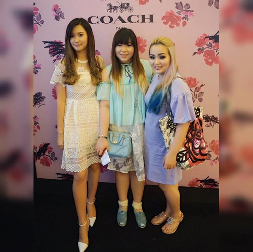 "Earlier at @coach event ""Celebrate Spring with Coach""  Thank you @amandatorquise @princesslie for the invite 😊  #event #surabaya #surabayaevent #coach #coachindonesia #celebratespringwithcoach #surabayaevent #fashionevent #fashion #clozetteid #clozettedaily #blogger #bblogger #bbloggerid #sbybeautyblogger #ootd #personalstyle #ootdid #girls #ladies #asian #influencer #fashioninfluencer #surabayainfluencer #surabayafashioninfluencer #personalstyleblogger #surabayablogger #coachspring2017"