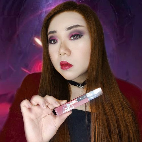 Be your own Super Hero, that's what i'd say!Scarlet Witch inspired look, the makeup is dramatic and dark to portray her when she is really REALLY mad!Wearing @maybelline Superstay Matte Ink (Limited Edition Marvel SuperHero packaging) in shade 80 Ruler.Who is your fave SuperHero and which one of the limited edition SSMI you want the most?Ps : i actually like the second pic better but when i was to upload it, i realized that the product was upside down 😭.#swipeonyoursuperpower #maybellineindonesia#marvelxmaybelline #maybelline #superstaymatteink #lipcream #scarletwitch#clozetteid #sbybeautyblogger#bloggerindonesia #bloggerceria #beautynesiamember #influencer #beautyinfluencer #surabayablogger #SurabayaBeautyBlogger #bbloggerid #beautybloggerid #indobeautysquad  #girl #asian #endorsementid #endorsement #endorsersby #jakartabeautyblogger #openendorsement #endorsersby #endorsementid #startwithsbn #socobeautynetwork