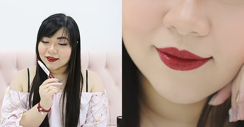 Wearing My Bong Tint in Tomorrow Red  It's very light weight, comfortable and super pigmented! Check out @altheakorea 's to read the full article about this awesome new product!  #althea #altheakorea #itsmy #itsmybongtint #altheaxaphrodites #aphroditesoverseas #girl #asian #clozetteid #beautynesiamember #sbybeautyblogger #bloggerceria #blogger #bblogger #bbloggerid #beautybloggerid #beautybloggerindonesia #influencer #beautyinfluencer  #jalanjalan #pinkinKL #pinkinKualaLumpur #kualalumpur #pinkinmalaysia #malaysia #koreancosmetics #kbeauty #liptint #kcosmetics
