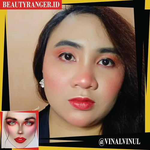 This is my first Collaboration Makeup with @beautyranger.id Recreate makeup from @milk1422I chose this makeup because I recently love red colour on my face. This kind of makeup can make me more fresh and unique. @litaarianti@nevy_agustina@resty4@yuliasrisaragih@emput_puuuttt@yindri661@inii.nadia_@nitalatif29@mommynyaqueen@official_rakum@tamioktari@diyanurmutiasari@seftinaq@shintadwia@revanisabnabella@nuybiebeauteen@noviawids@rinandhaputriie@tariyuliana@inabunaa@picme07@nelly_uty@azizaharum_m@vinavinul@winnie_angeline@__.selvina.__@risdarhmlia@wendaariwenda@patriciavanessa_@wulandarirn@isnaini__choki@melda_ombenk@jho_annisa@gadishayu@ria_ariefiana@verawatii.sinaga@sweetirtup@putritujuh@filiadev@lauralavella@indah_isaku@uswatunieq@melda_ombenk#BEAUTYRANGERCOLLAB #BEAUTYRANGER #recreatemilk1422makeupcollab #lavinamakeup #clozetteid #redmakeup #makeupred #recreatemakeup #makeupbold #boldmakeup