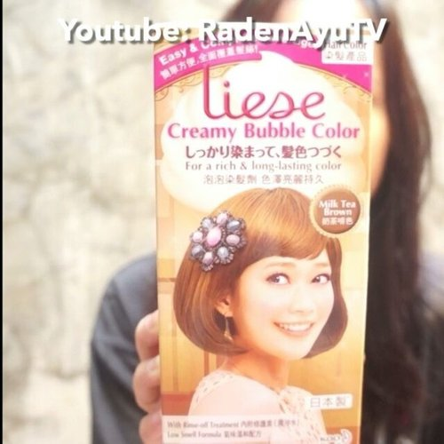 How to dye your hair at home with Liese Creamy Bubble Colour 👯❤Watch full video 👉 http://bit.ly/howtoliese #ivgbeauty #ivgcommunity #indobeautygram #clozetteid #hudabeauty