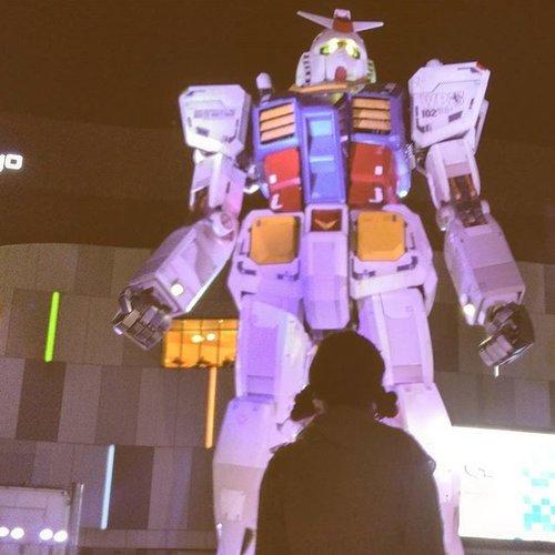 😱 #gundam #odaiba #divercity #tokyo #japan #clozetteid