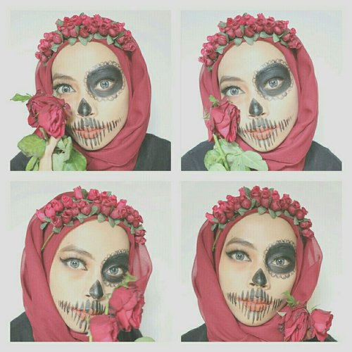 #hallowen #makeup #beauty #clozette #clozetteid #starclozette #clozettemakeup #hallowenmakeup