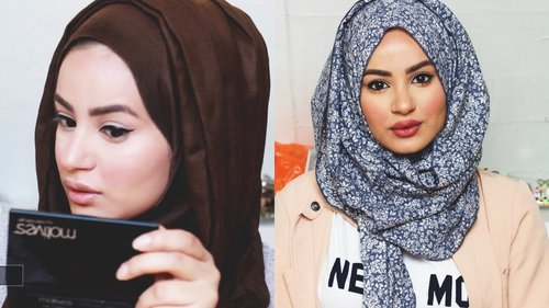 Get Ready With Me : Make-up Tutorial, Hijab Tutorial & Outfit of the day! - YouTube