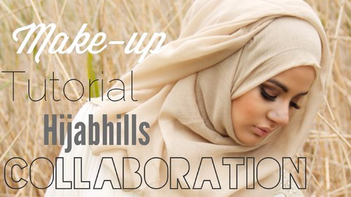 FULL FACE MAKEUP TUTORIAL COLLAB WITH HIJABHILLS (DRESSES BY EL SHEIKHA) - YouTube