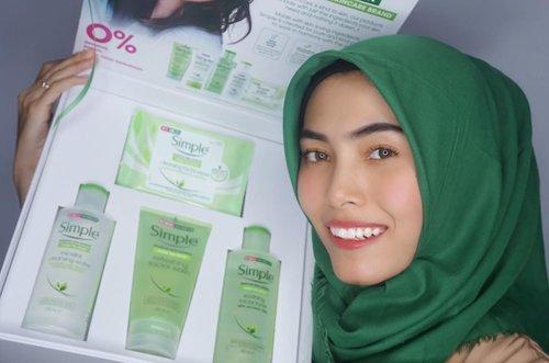 Hi, ada produk baru yang masuk ke Indonesia loh, nama brand nya itu Simple! Nah, Simple ini 0% pewarna, parfum, dan bahan kimia keras). Selain itu Simple merupakan UK's #1 Facial Skin Care Brand yang juga terkenal di Amerika dan Korea. Menggunakan bahan-bahan natural seperti Vit B, 3x purified water, chamomile extract. Cocok digunakan untuk semua tipe kulit loh, terutama kulit sensitif. ✨ Yuk coba dan kepoin IG nya @SimpleSkin @Guardian_ID #SimpleSkincare
