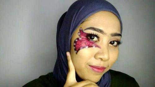 Hari ketujuh dan terakhir untuk #7D7V  Alhamdulillah bisa menumpas kemalasan dan berhasil upload 7 video makeup yang masih amaaaatiiiiir. Video terakhir challenge kali ini adalah, kupu-kupu. Tapi jadinya lebih kaya kaper. . . Product: - Foundation @milanicosmetics - Dual Eye Pencil @id.oriflame - Lipstick Reog 1 @sariayu_mt - Eyeshadow Palette @inezcosmetics - Eyebrow Cream & Eyeliner @qlcosmetic . . 🎶🎶 Manuk Dadali . . #7D7V #7D7VDAY7 #makeuptutorial  #indobeautygram #beautybloggerindonesia #beautyblogger #bloggerponorogo  #wakeupformakeup  #boldmakeup #ponorogohits #clozetteid #ivgbeauty #setterspace #makeupforhijab #hijabandmakeup #motd #muaponorogo #Ponorogo #beautylosophy #teambvid #bvlogger.id #xoranee @indobeautygram @beautylosophy @bvlogger.id @bloggerceriaid @emak2blogger