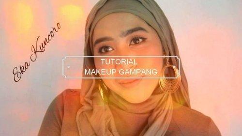 [ MAKEUP GAMPANG TANPA BULUMATA PALSU] Suka bikin video makeup tutorial tanpa bulumata palsu. Bukan karena sok natural, karena kehabisan aja, 🙄. So inilah, makeup tutorial dengan menggunakan produk yang itu-itu lagi, 😁. Detail produk ada di dalam video. #makeuptutorial #tutorialmakeup #ragamkecantikan #tampilcantik #makeupnatural #videomakeup#beautiesquad #beautyranger #rangerratjun #kbbvmember #beautygoers #setterspace #clozetteID