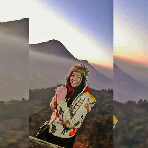 Anak gunung.__________#megatravelstory #exploredieng #clozetteid #sunrise #gunungsikunir